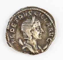 249-251 Ancient Rome Herennia Etruscilla AR Coin