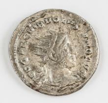 252 Ancient Rome Antoninianus Volusianus Coin