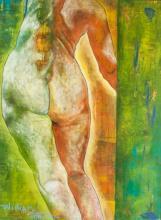 William Tolliver (1951-2000) Acrylic on Canvas