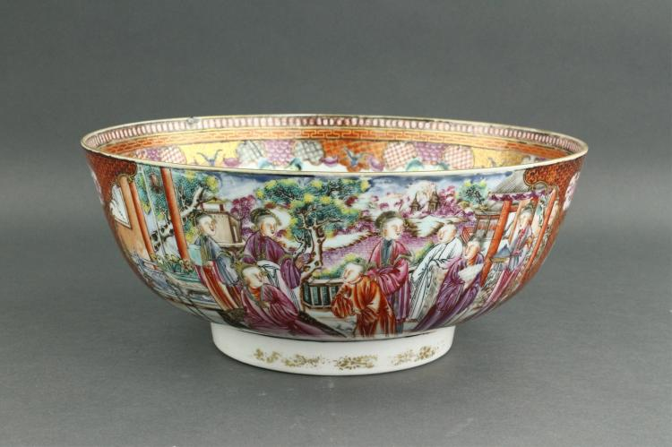 Chinese 18th C. Qianlong Imperial Porcelain Bowl