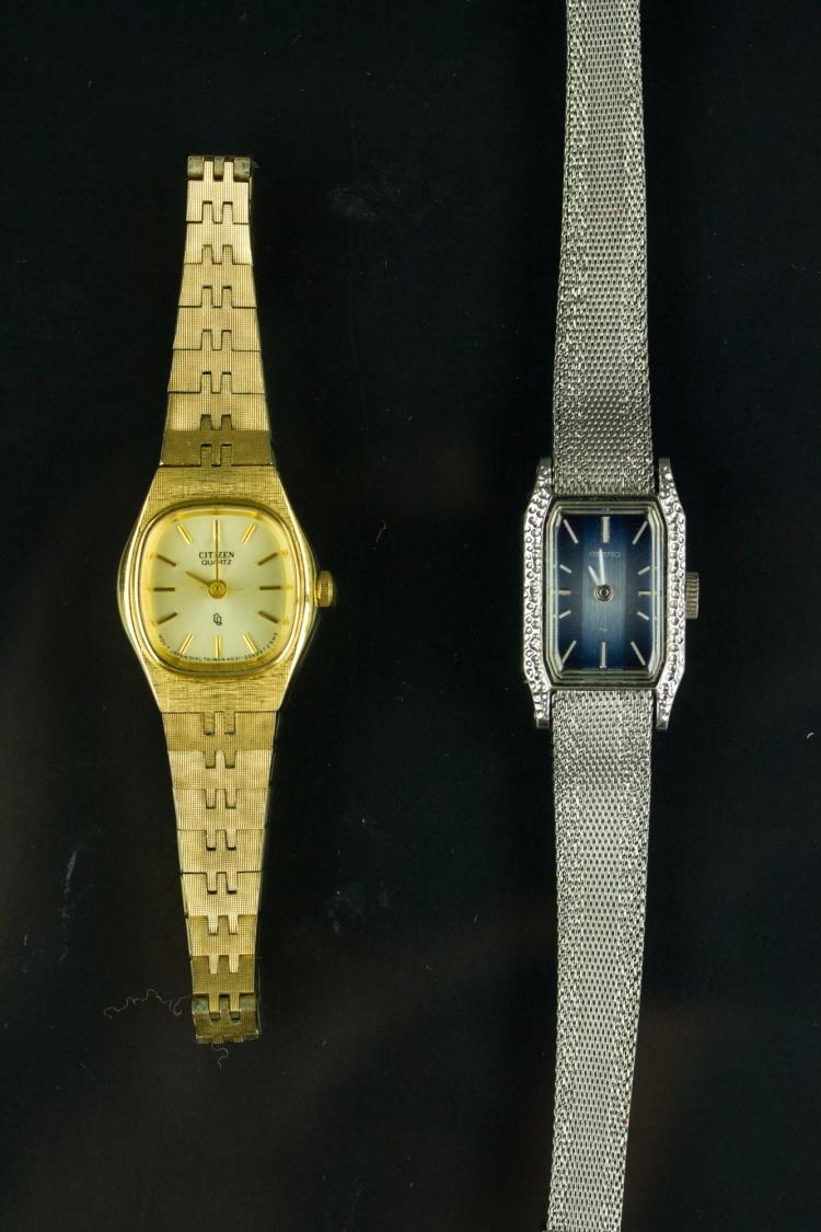 Two Pieces of Citizen & Seiko Lady's Watches
