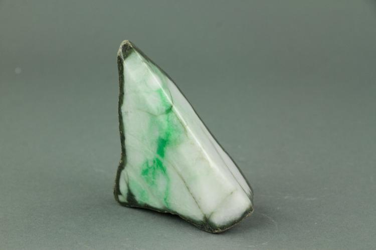 Chinese Natural Green Jade Stone