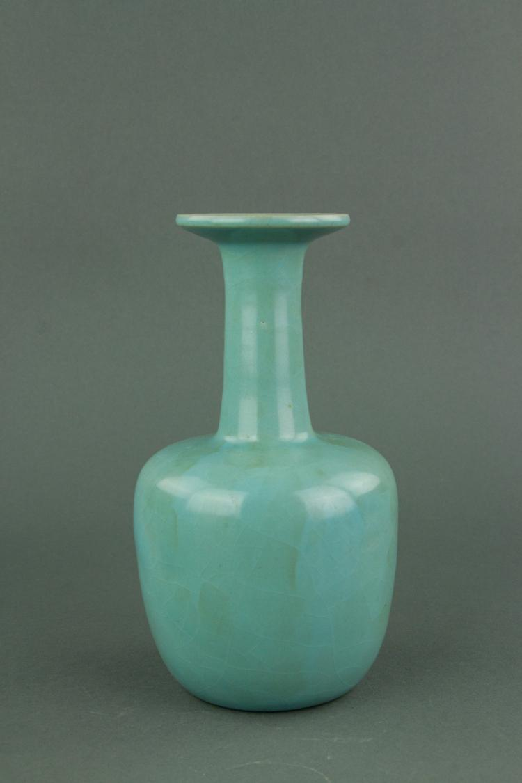 Chinese Song Style Porcelain Guan Vase