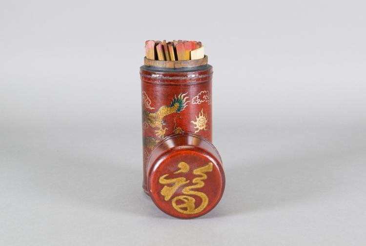 Chinese Traditional Fortune Sticks Box