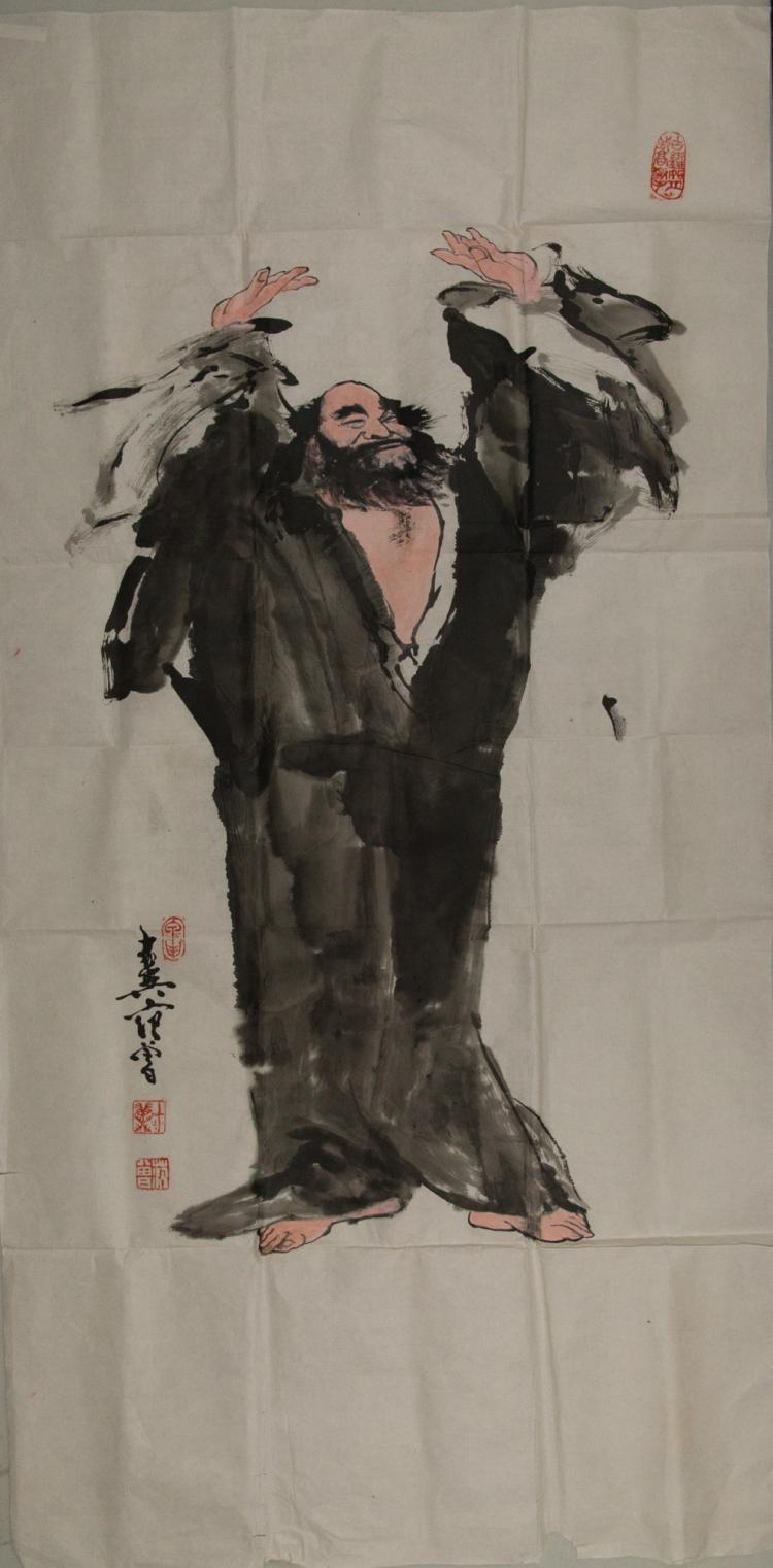 Fan Zeng b.1938 Watercolour on Paper