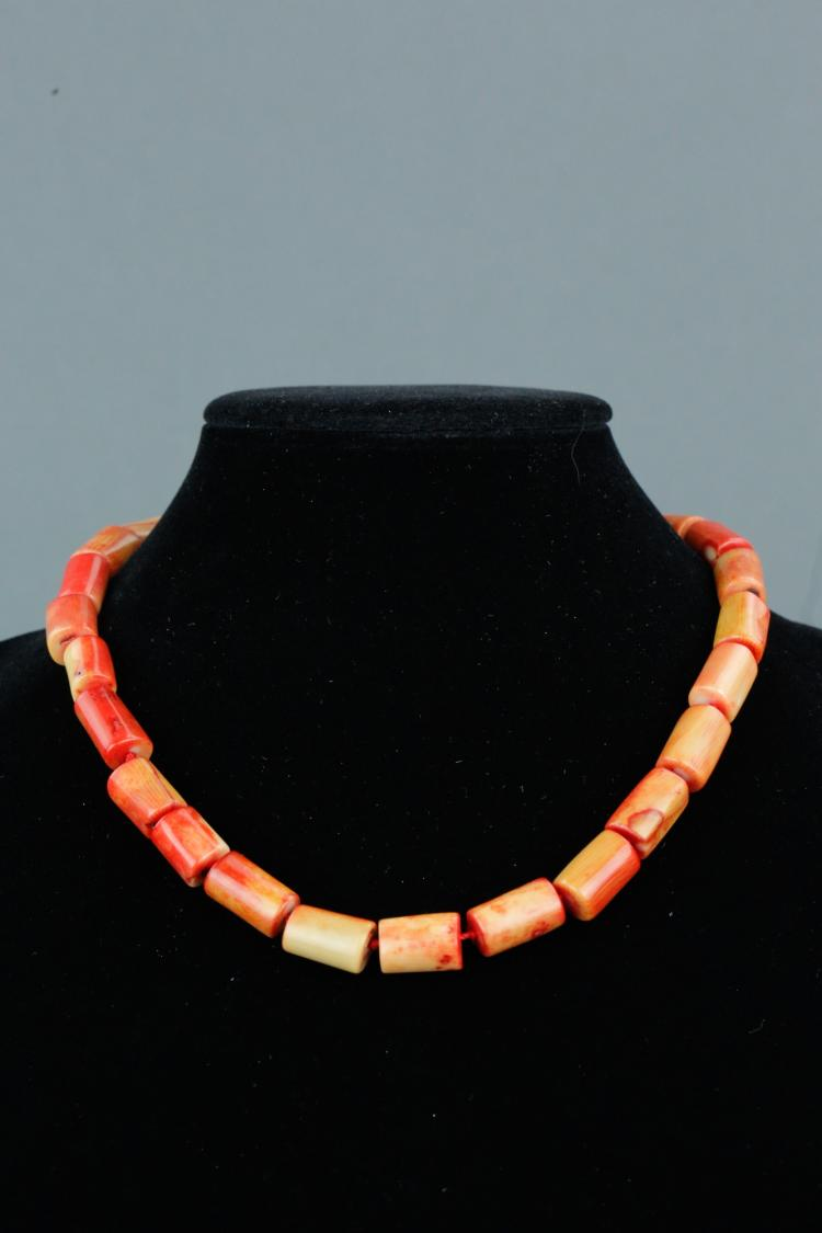 Natural Sea Coral Necklace