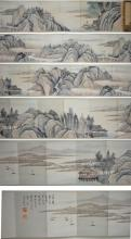 Gu Yun 1845-1906 Watercolour on Paper Booklet