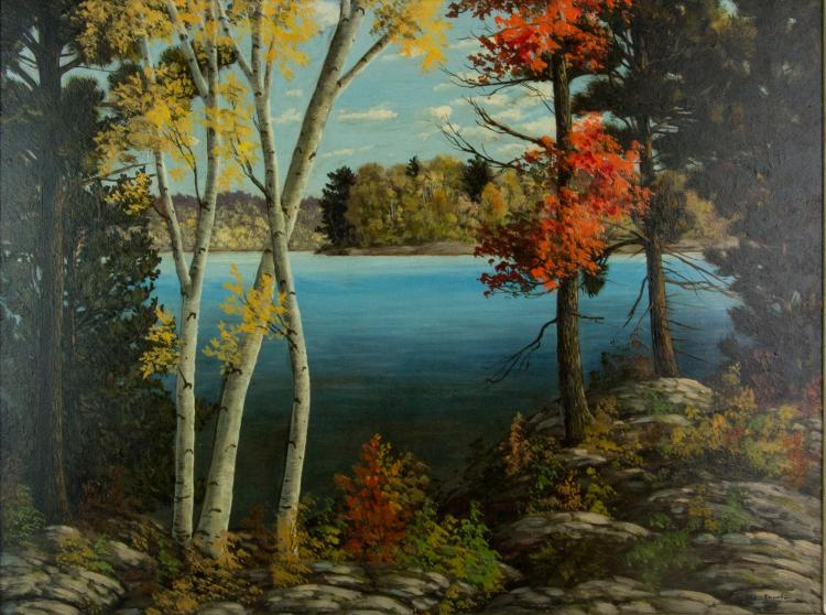 George Thomson -1935 Oil on Canvas Canada