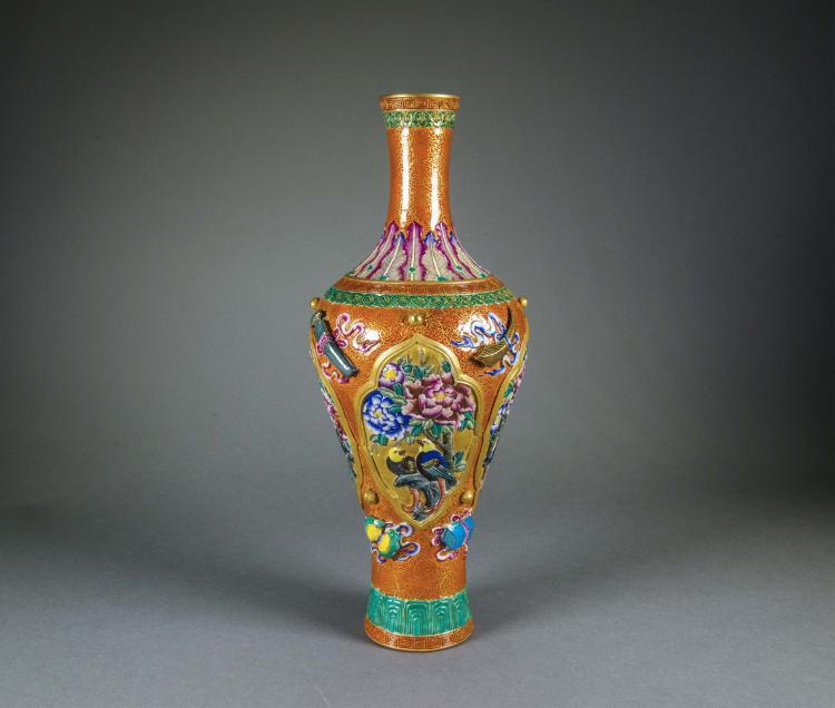 Chinese Republic Period Porcelain Vase Qianlong MK