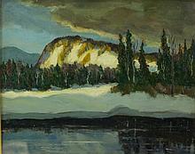 Maurice Cullen 1866-1934 Oil on Board Canada