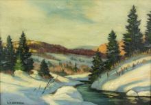 Fredric Brigden 1871-1955 Oil on Canvas Canada