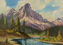 Roland Gissing 1895-1967 Oil on Canvas Canada