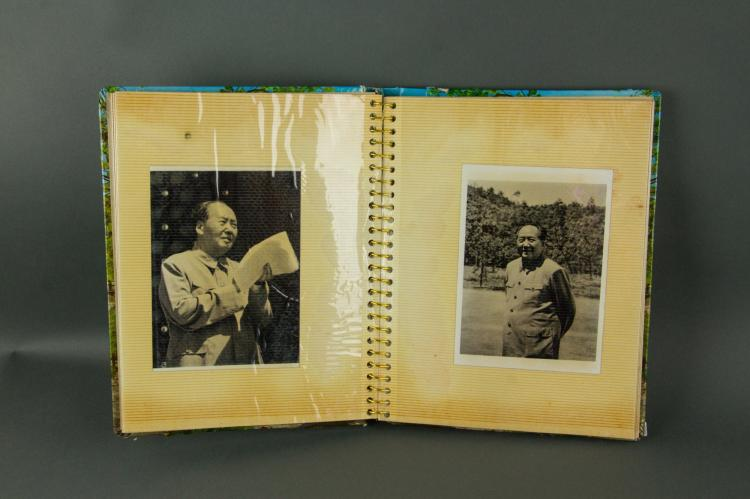 Chinese Old Photo Album of Chairman Mao