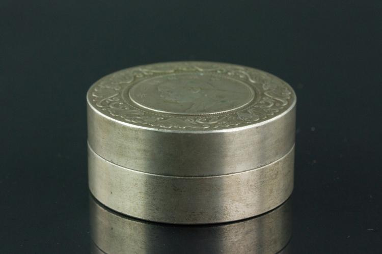 Chinese Silver Coin with Case