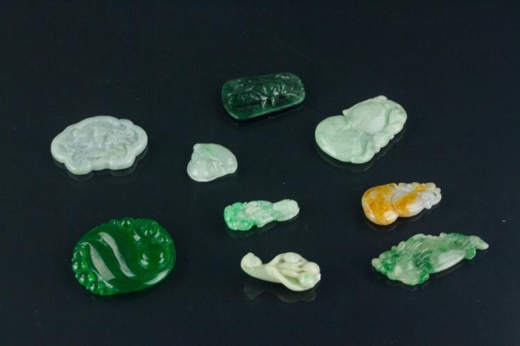 9 Pc Chinese Varieties Pendants