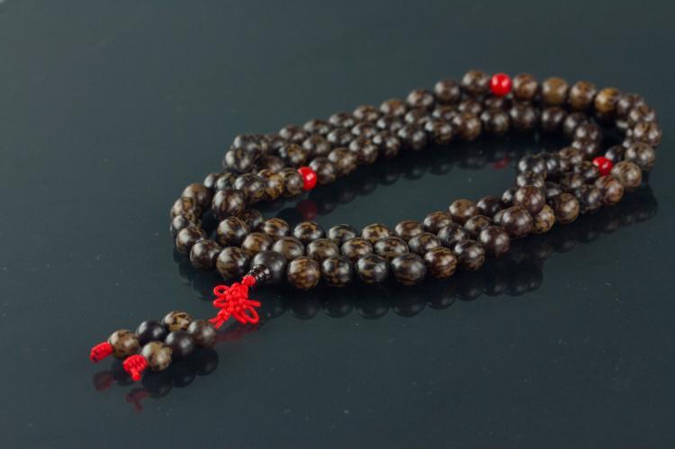 Chinese Bodisu Beaded Necklace