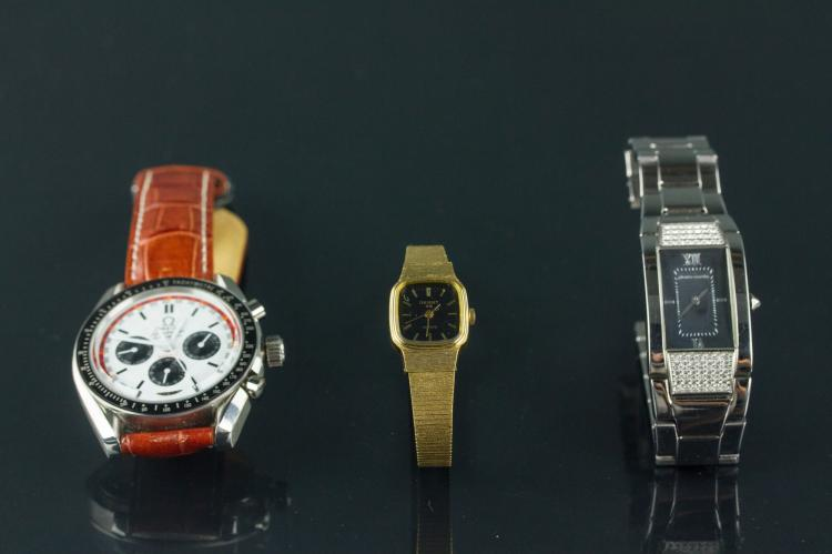 3 Pc Peirre Cardin, Omega & Orient Watches