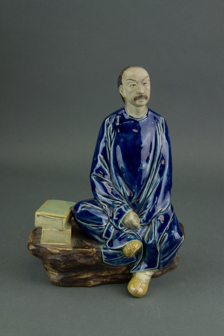 Chinese Republic Pottery Figure