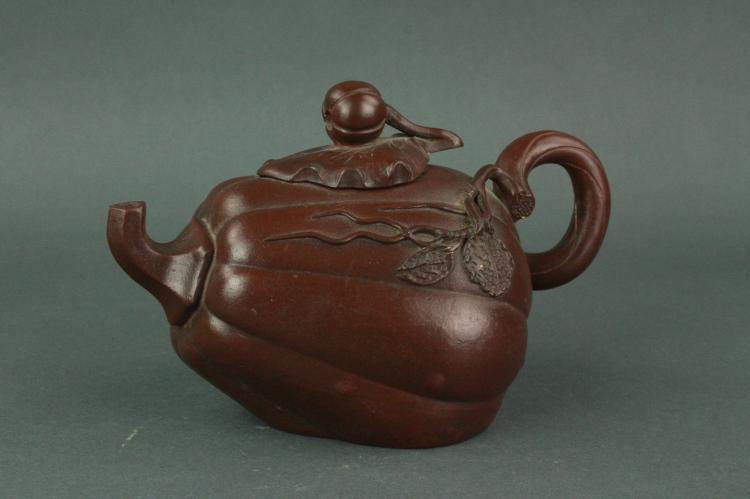 Chinese Fine Zisha Teapot Lu Xinhua Mark