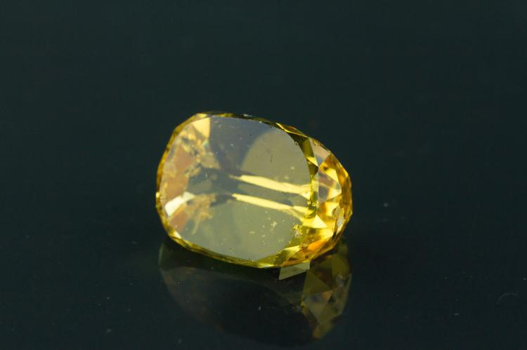 Chinese Fine Topaz Carved Gemstone