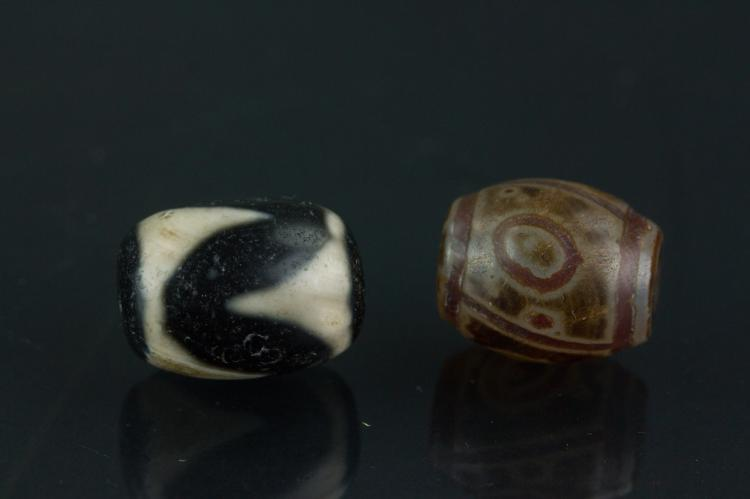 Tibetan 2 Pc Tianzhu Beads