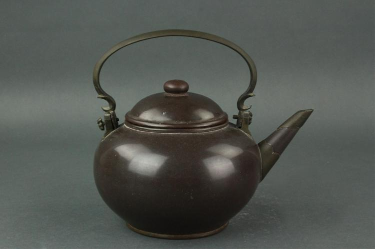 Chinese Purple-clay Zisha Teapot Gongju MK