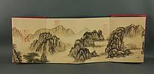 Dong Qichang 1555-1636 Watercolour on Booklet