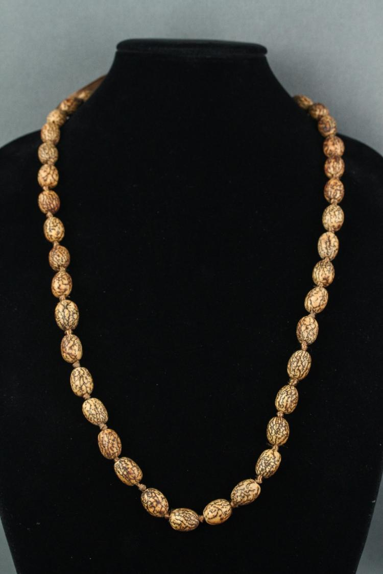 Chinese Old Seed Necklace