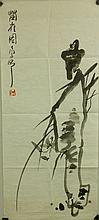 Ding Yanyong 1902-1978 Watercolour on Paper