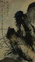 Li Xiongcai 1910-2001 Watercolour on Paper