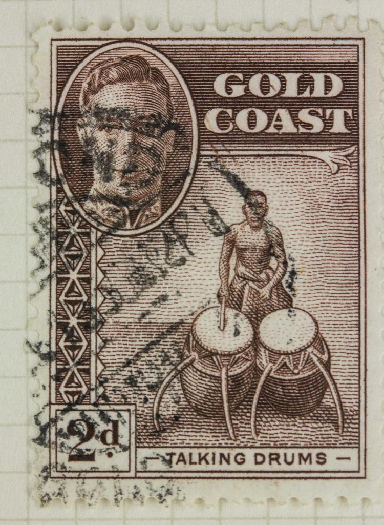 Australia gold coast 2 d 1948 stamp for Chinese furniture gold coast