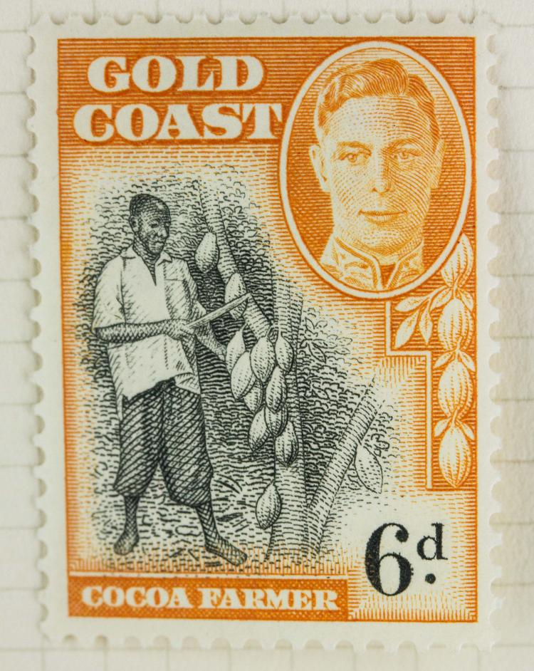 Australia gold coast 6 d 1948 stamp for Chinese furniture gold coast
