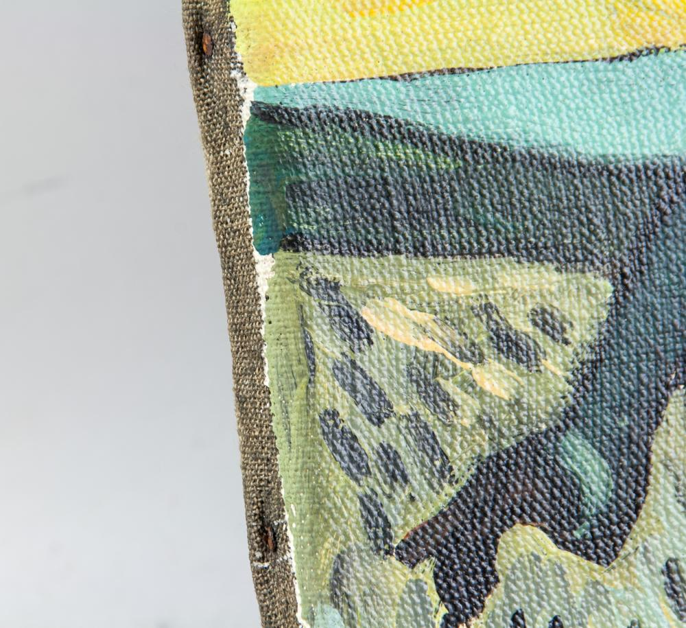 Lot 21: Dutch Post-Impressionist Oil Canvas Signed Vincent
