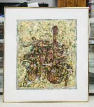 Lot 24: Shoo Ching Wan XX Chinese Oil on Canvas
