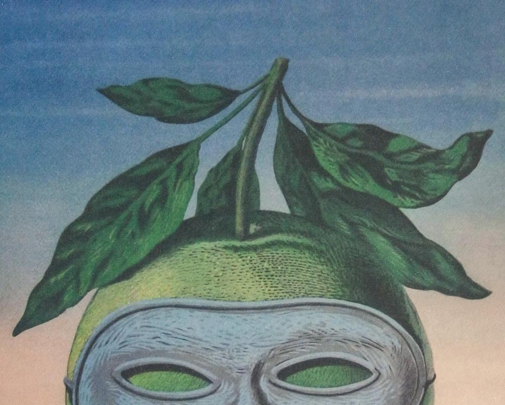 Lot 39: Rene Magritte Belgian Signed Lithograph 150/200