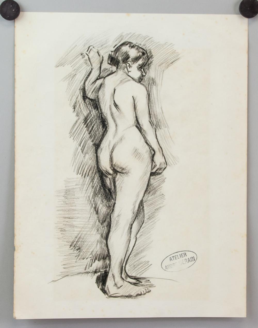 Lot 52: Andre Derain French School Graphite on Paper