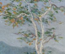 Lot 56: Signed Calif. H Jaeger Oil on Canvas Landscape