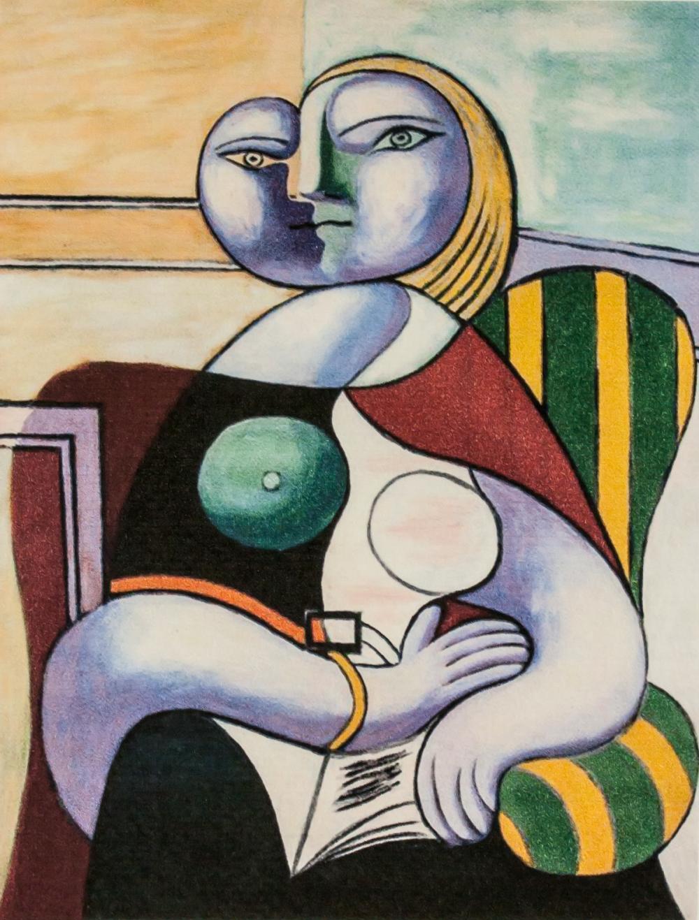 Lot 66: Pablo Picasso Spanish Cubist Signed Litho AP