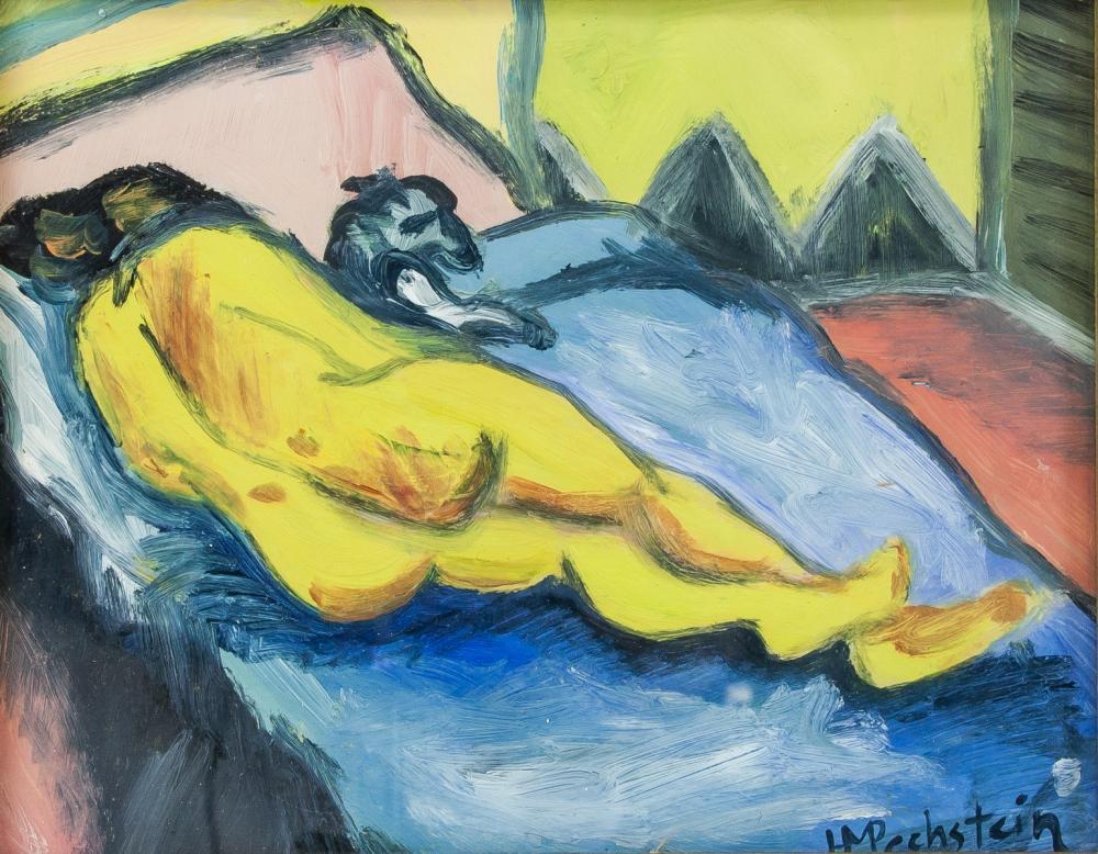 Max Pechstein German Expressionist Gouache