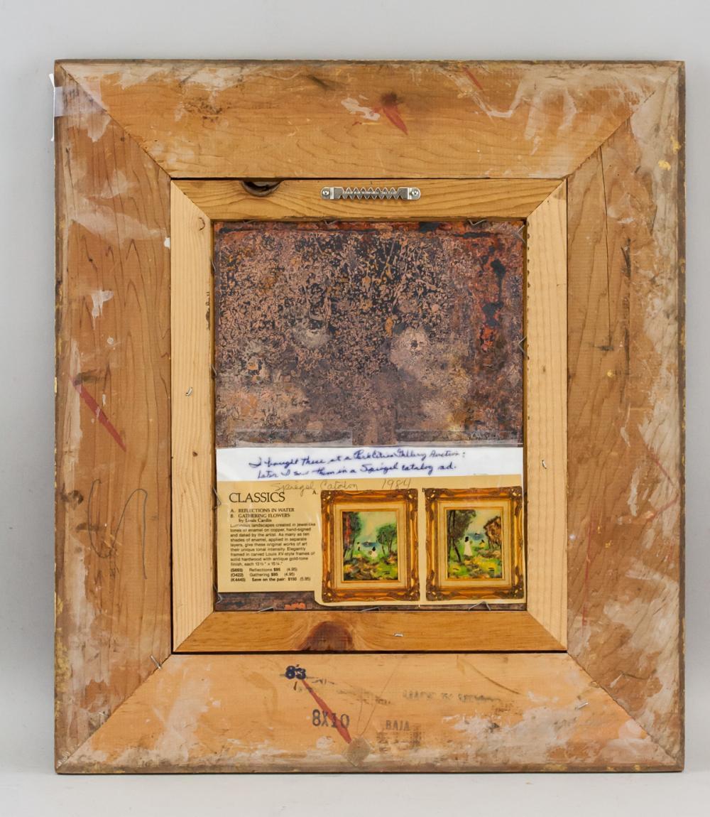 Lot 77: Louis Cardin French Enamel on Copper