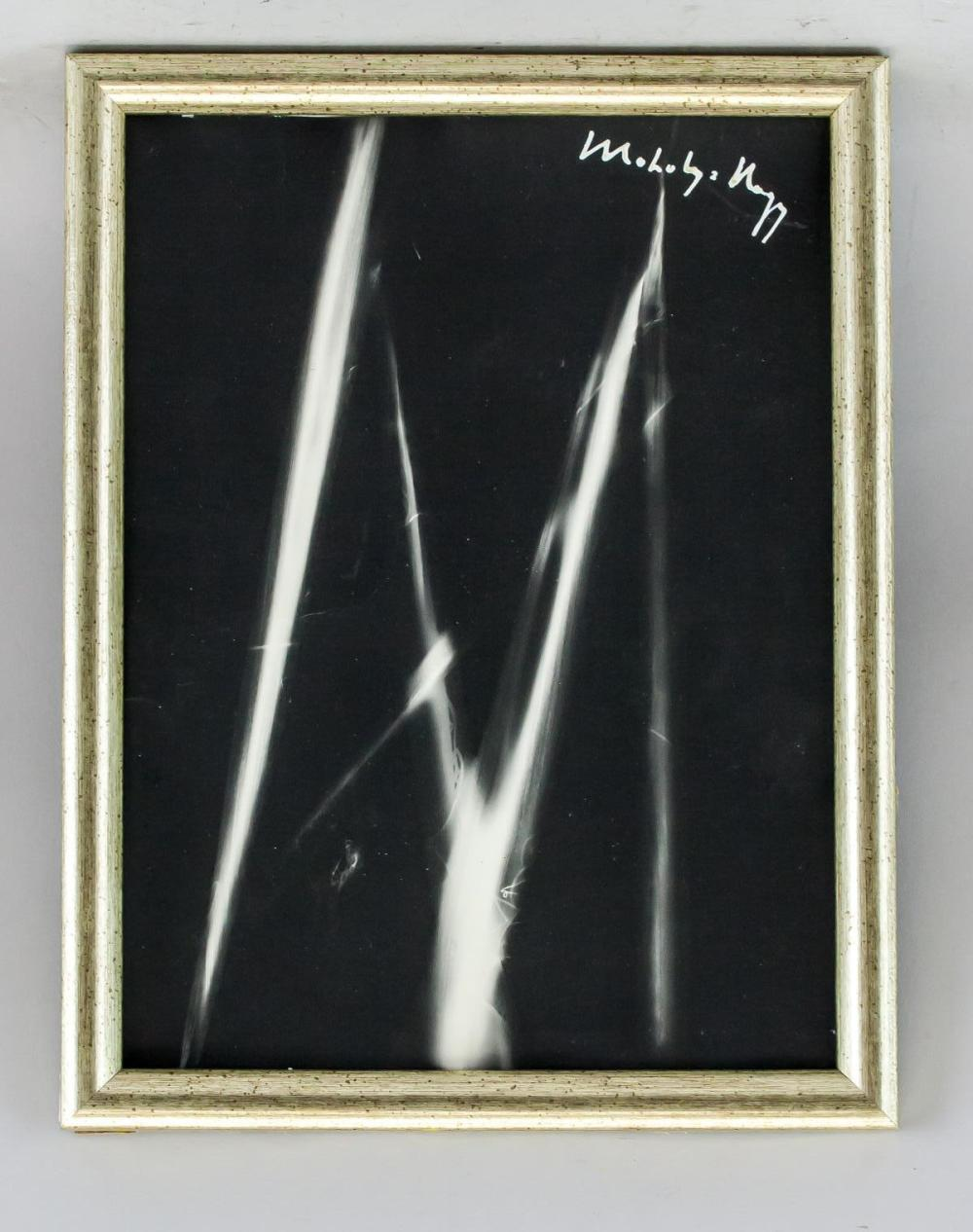 Lot 93: Moholy Nagy Hungarian Constructivist Photogram