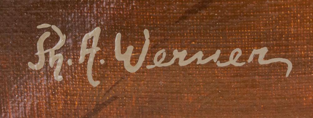 Lot 83: Franz von Defregger Austrian Signed Werner OOC