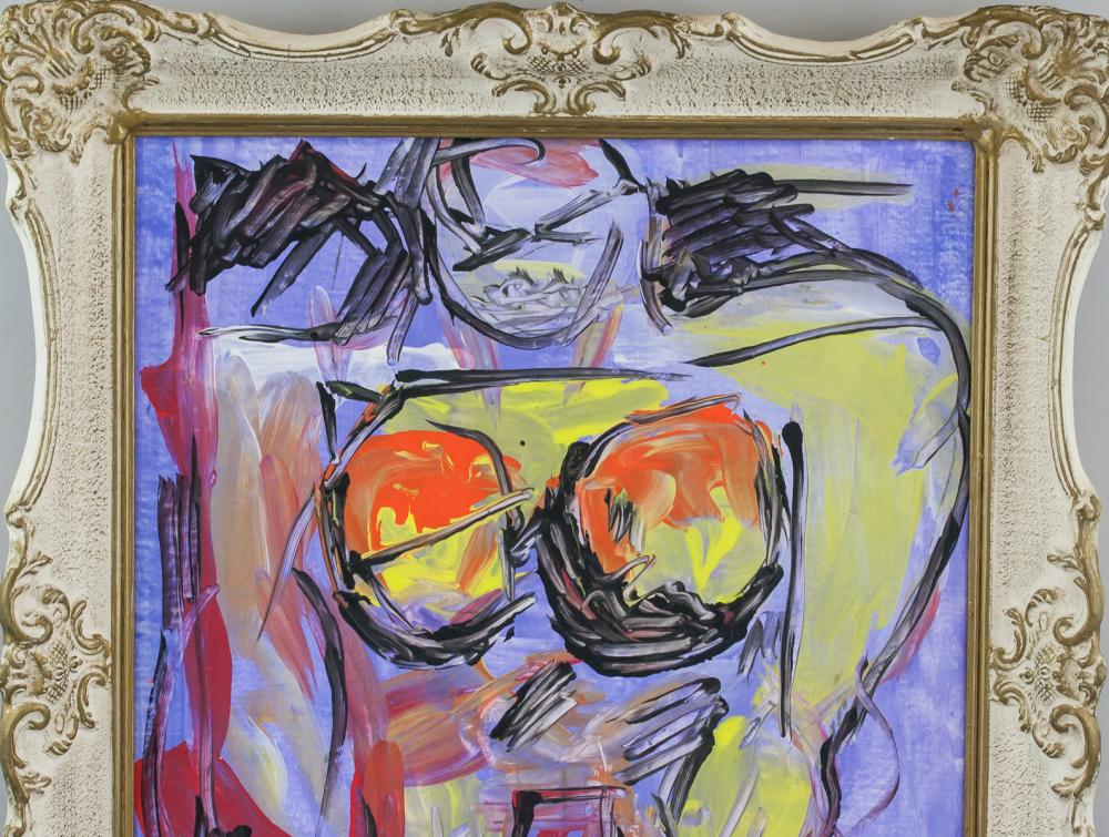 Lot 84: Willem de Kooning American Abstract Oil on Canvas