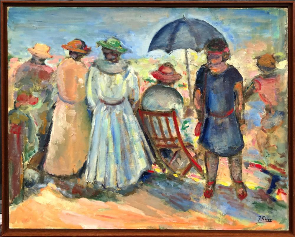 Josefina Ferrer b.1922 Spanish Oil on Linen