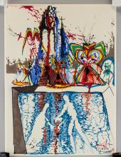 Lot 97: Salvador Dali Lithographs Romeo e Guilett