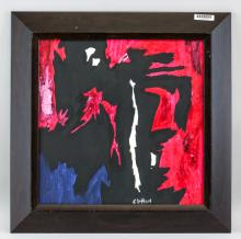 Lot 106: Clyfford Still American Abstract Oil on Canvas