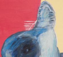 Lot 107: Manabu Mabe Brazilian-Japanese Oil on Canvas