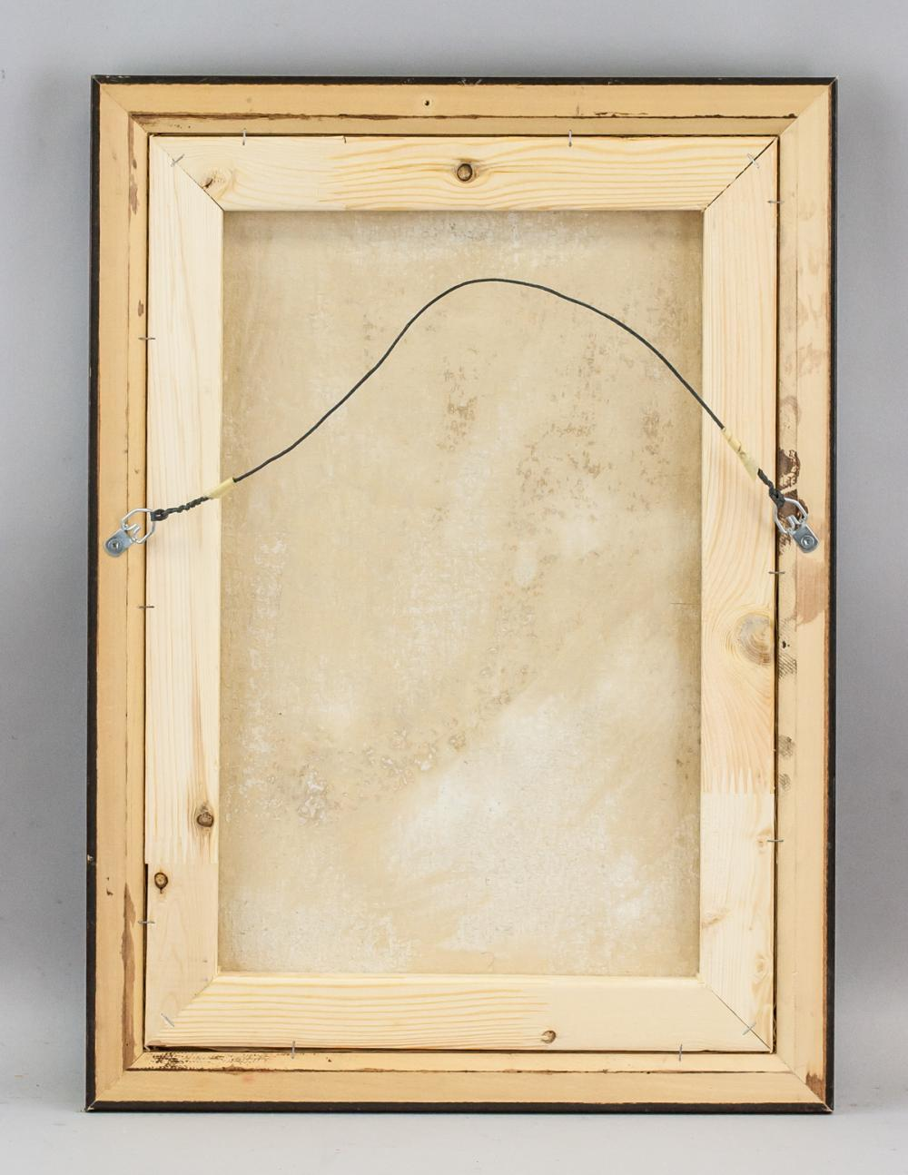 Lot 118: Manolo Millares Spanish Abstract Oil on Canvas