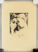 Lot 119: Paul Delvaux Belgian Signed Etching 27/75
