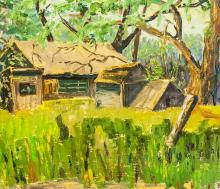 Lot 115: Canadian Oil on Canvas Signed M. Grumbacher